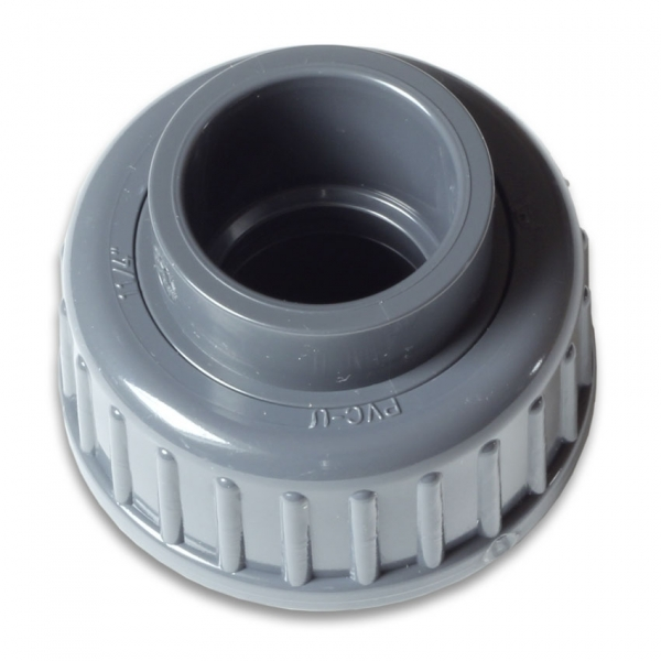 PVC-Fittings metric for Flow-Sensor 9000l/h
